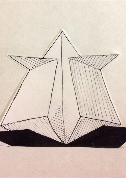 Светильники Оригами