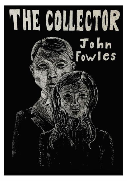 """Иллюстрации к книге Джона Фаулза """"Коллекционер""""."""